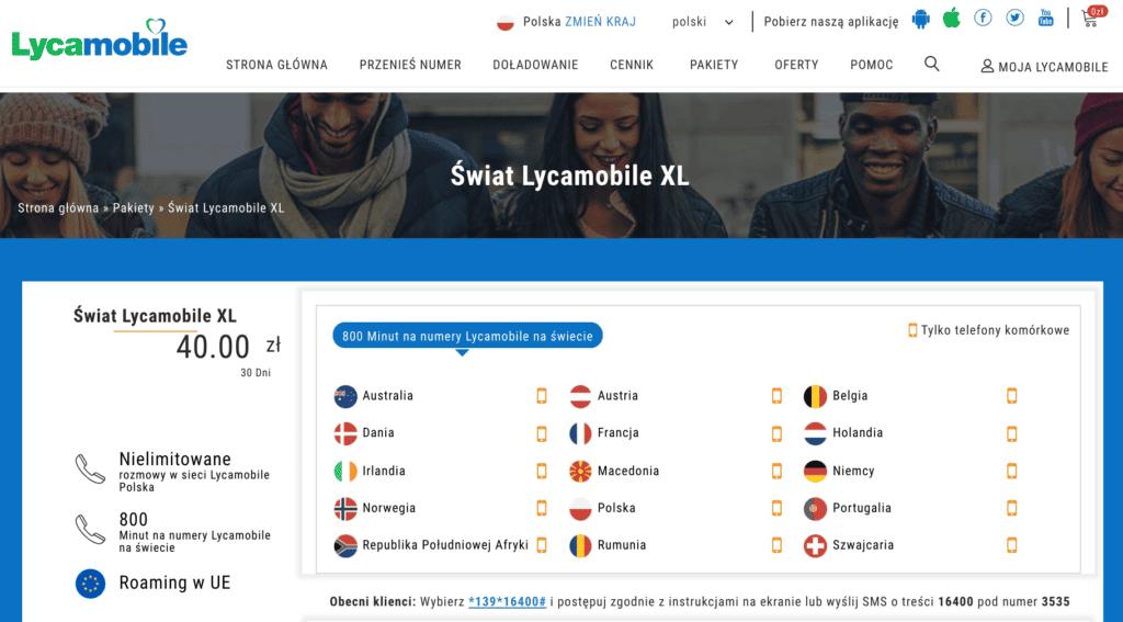 Выбираем мобильного оператора в Польше