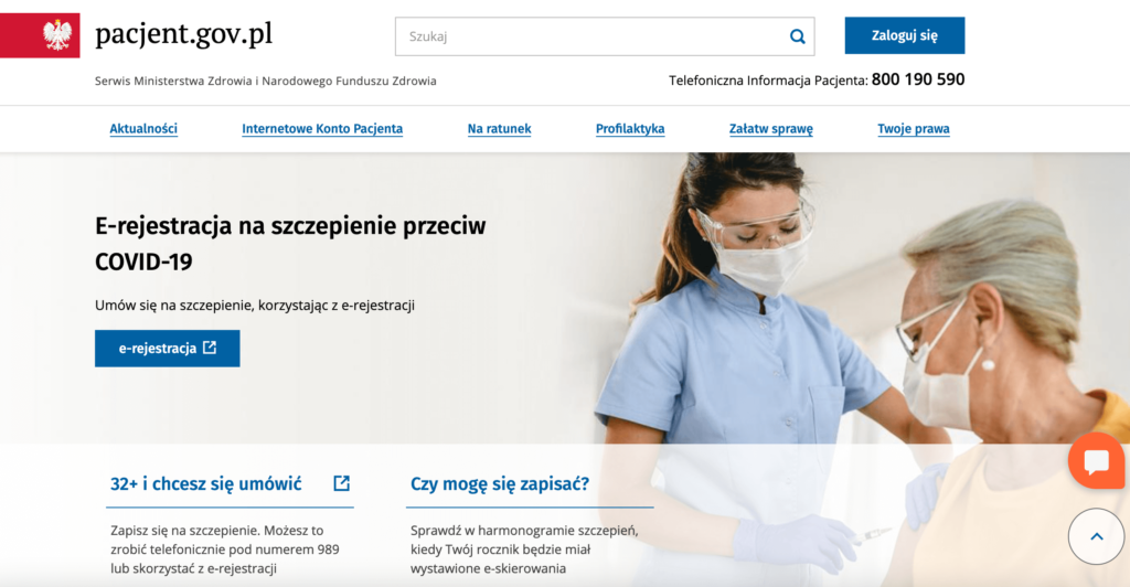 Вакцинация в Польше: где и как иностранцу привиться бесплатно
