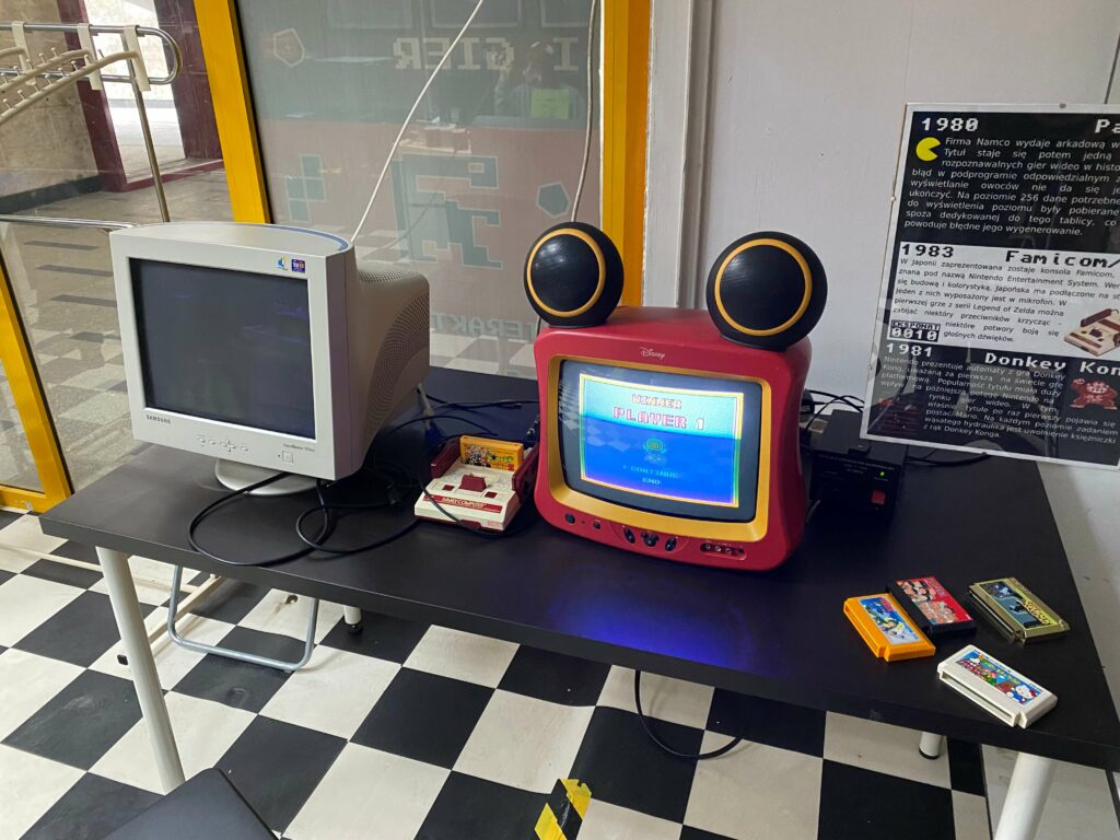 Варшавский музей ретро игр WMKiG